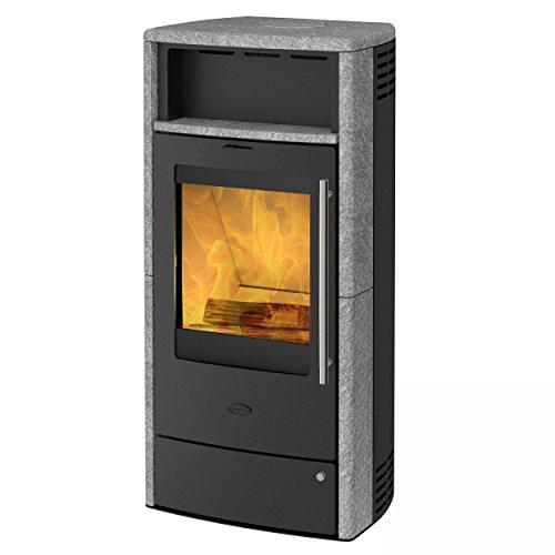 Fireplace K5924 Torino Dauerbrandofen Speckstein/A+