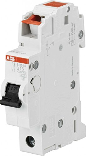 ABB S203-B16 B-Type 1P Circuit Breaker – Circuit Breakers (230/400, 50/60 Hz, 16 A, 17.5 mm, 69 mm, 88 mm)
