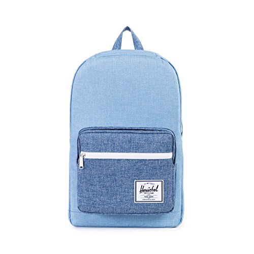 Herschel Supply Company SS16 Casual Daypack, 22 Liters, Limoges Crosshatch/ Chambray Crosshatch/ Tan