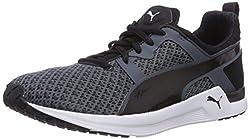PUMA Women's Pulse XT Geo WN's Indoor Shoes, Black (Black 01), 39 EU