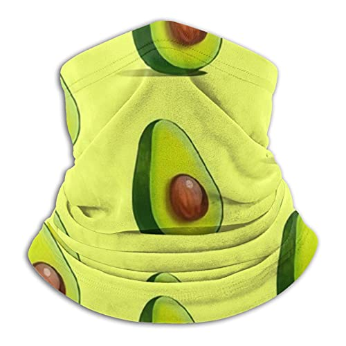 best& Pañuelo de aguacate, multifuncional, sin costuras, con tubo elástico, para la cabeza, pasamontañas, máscara facial UV, residencia para yoga, correr, senderismo, ciclismo