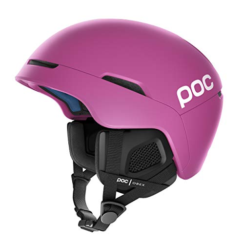 POC, Obex Spin Snowboard and Ski Helmet for Resort and Backcountry Riding, Breathable and Adjustable, Actinium Pink, X-Large/XX-Large
