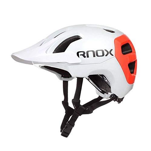 Integrierter Fahrradhelm für Herren und Damen Mountainbike-Helm Reitausrüstung passend für Kopfumfang 52-61cm, Passform Größe 2