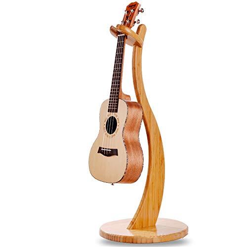 Yamyannie-Accessories Ripiano for Violino di bambù Pieno in Legno massello Rimovibile Ukulele Piccolo Supporto for...
