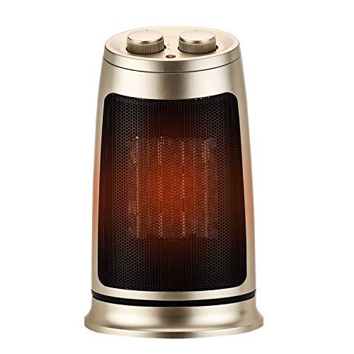 AUED Mini Calentador, Calentador eléctrico Calentador portátil de Espacio silencioso Ventilador Calentador de Escritorio Madre Bebé Disponible, para Oficina Dormitorio Hogar Baño