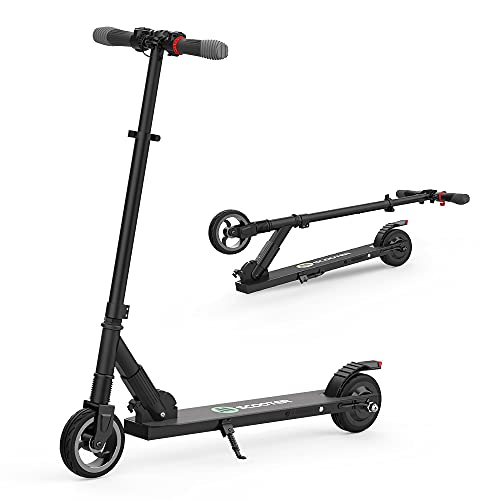 Mtricscoto Electric Scooter, Height Adjustabe Folding E-scooter, 23km/h Top Speed, Easy to Carry, Gift for Kids & Adults Black