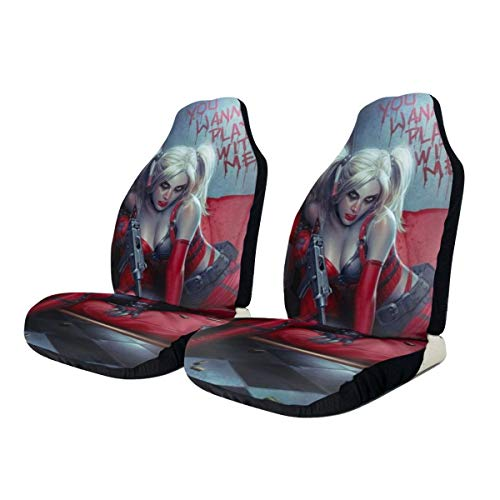 41qFxMrzBGL Harley Quinn Seat Covers
