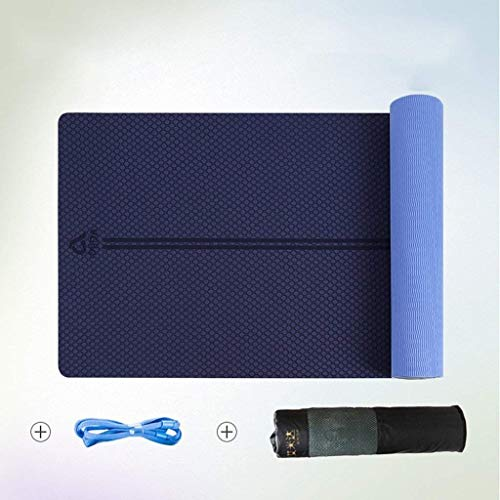 ZGQA-GQA - Esterilla de yoga, amplia y extensible, para ejercicios de fitness