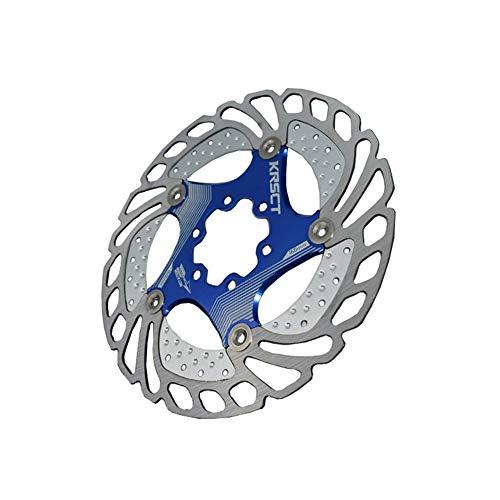 Rotor de freno de disco de acero inoxidable MTB disco flotante de bicicletas pastillas de freno 6 clavos del freno de disco del rotor del freno flotante flotante de refrigeración del rotor 160MM Bicic