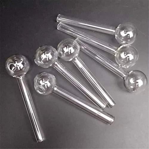 RORA 10 tubos de cristal Pyrex, para pipa de cristal transparente