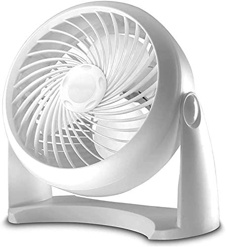 WACZJ Ventilatore da Esterno Portatile Ultra Quice Energy Efficient 3 velocità Amposizione 90 ° Circolazione oscillante Silenzioso per Ufficio Home Viaggi