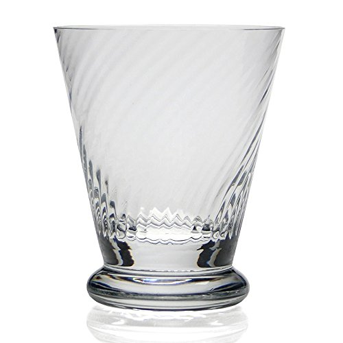 William Yeoward Crystal Calypso Tumbler of Old Fashioned Glass