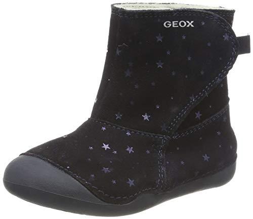 Geox Mädchen B Tutim A Stiefel, Blau (Dk Navy C4021), 22 EU