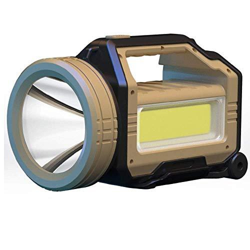Linterna de emergencia ultra brillante HP90 LED, antorcha de caza, 38400Ma USB recargable de búsqueda, con 3 modos, lámpara de advertencia intermitente roja 3 modos Alysays (tamaño: P50)