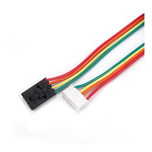 HUANRUOBAIHUO 1M NAMA17 42 Stepper Motor Cables Compatiable For Mini-Rambo Einsy Rambo Rambo 1.3 1.4 F/Prusa i3 MK2 MK2S MK3 3D Printer 3D Printer Parts
