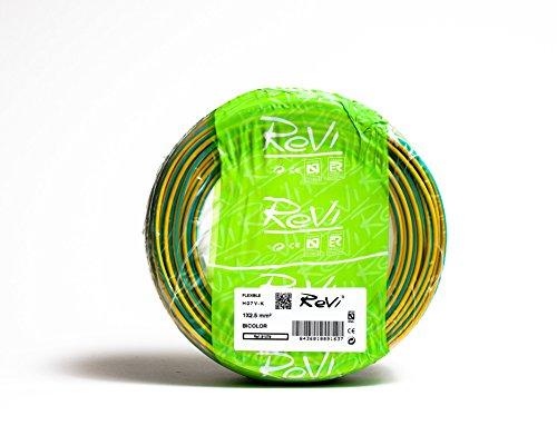 Cable FLEXIBLE H07V-K 1 x 2,5 mm² 25 m (Bicolor (Amarillo /...