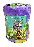 Disney Fairies Spring Pixies 46x60 inch Micro Raschel Throw Blanket
