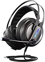 Mpow EG4 Gaming Headset (2019 Edition), 7.1 Surround Sound Gaming Headphone, Computer USB Headset with Microphone, Noise-Cancelling Mic, Over-Ear Wired Headset for PC, PS4