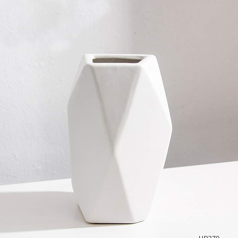 HBJP Vase Nordique en céramique, Salon, OrneHommests décoratifs Simples Vase (Taille   High20.7CM)