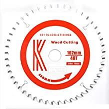 Key Blades and Fixings 162mm X 20mm X 1.8mm 48T Mafell Fitment Blade 162 MT55 MT55cc Teflon Coated Professional Quality saw Blade Best for Price
