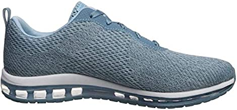 Skechers Women's Skech-AIR Element-Cinema Sneaker, Light Blue, 8 M US