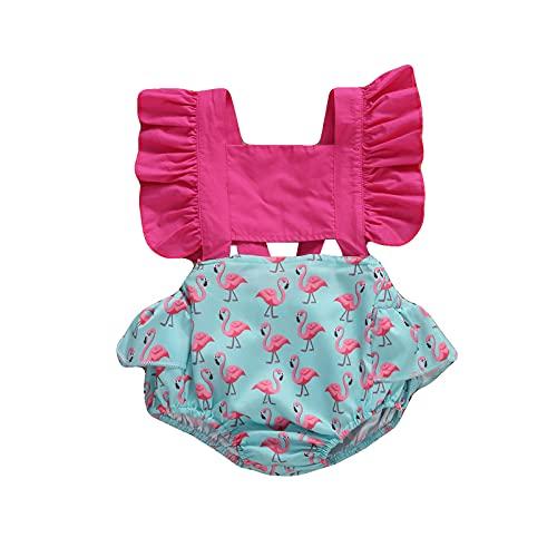 ChouZZ Body Kawaii para bebés y niñas, con encaje, para recién nacidos, con volantes, con encaje, para verano
