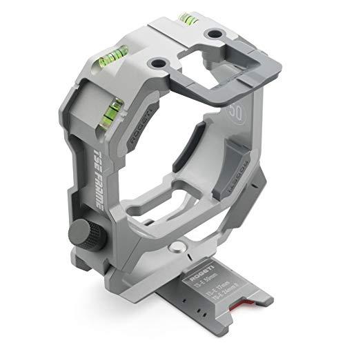 ROGETI TSE Frame/TSE Bracket Mark III+ für Canon TS-E 50mm f/2.8L Makro Tilt-Shift Objektiv inkl. Panorama Nodalplatte