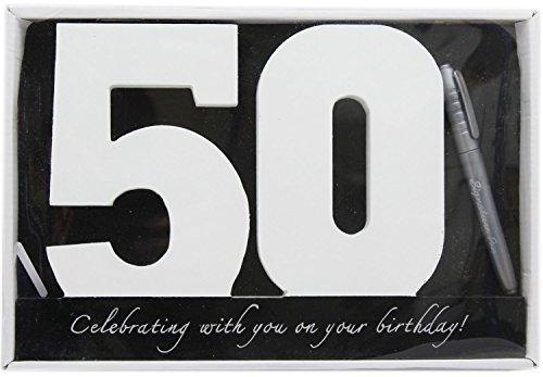 Carousel Home - Placa de madera para el 50 cumpleaños
