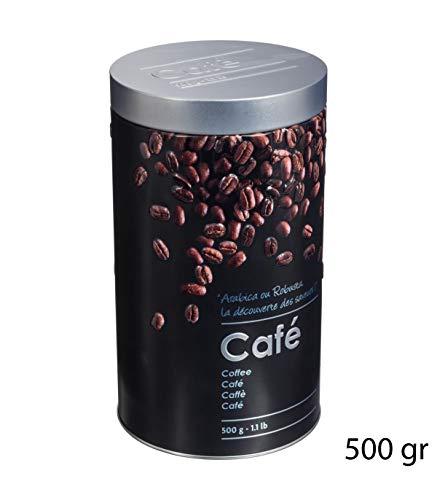 Secret de Gourmet - Boîte à café ronde relief