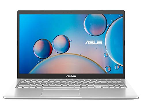 "ASUS Laptop A515JF-EJ051T, Notebook con Monitor 15,6"" FHD Anti-Glare, Intel Core i5-1035G1, RAM 8GB DDR4, grafica NVIDIA GeForce MX130 con 2GB GDDR5, 256GB SSD PCIE, Windows 10 Home, Argento"