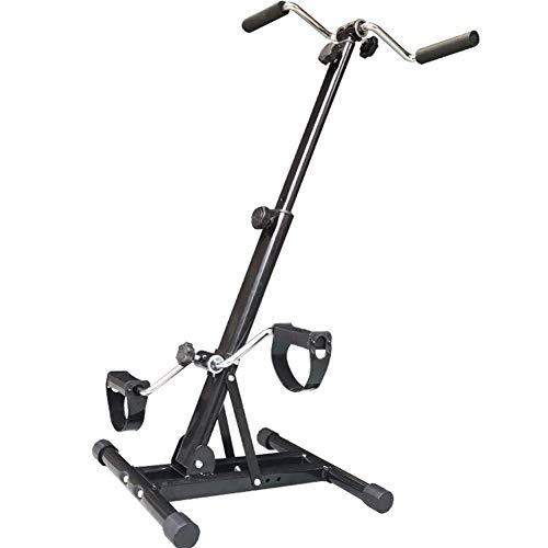 HYYK Máquina de Entrenamiento de Fitness de Pedales de Bicicleta de Pedales de Entrenamiento de rehabilitación Ajustable para Miembros Superiores e Inferiores