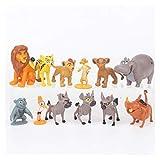 Figuras De Acción 12pcs / Conjunto de Dibujos Animados La Guardia Rey león Simba Kion acción del PVC Figuras Figurines Muñeca Juguetes for niños