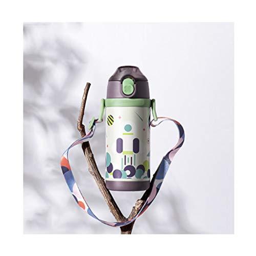 WPBOY Taza Termo Niños Modernos Sippy Thermos Thermos Botella De Agua para Niños De 10 Capas Aislamiento Tridimensional Regalo Taza Creativa (Color : 350ML/11.8OZA)