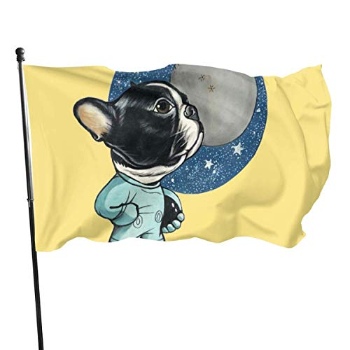 Hao-shop decoratiebord met Franse bulldogbright