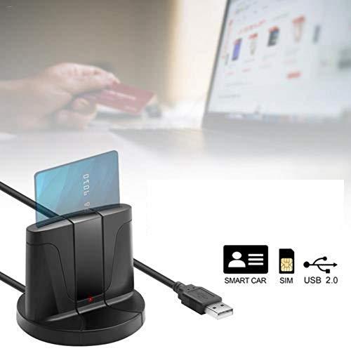 Smart Card CAC Reader, Dod Military USB Lettore di schede di Accesso Comune Lettore di schede Lettore di schede per Windows 32 Bit 64 Bit XP Vista 7 8 10 Mac OS X