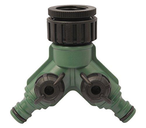 Dehner Irrigation Accessoires, Deux Voies pour Tous Les systèmes, env. 20 x 10 x 5 cm