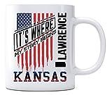 Independence Day Celebration Ideas Coffee Mug Lawrence Kansas It's Where My Story Begins Country Coffee Mug Gift - Happy Treason Day Ungrateful Colonials Unique Funny Mug 11oz