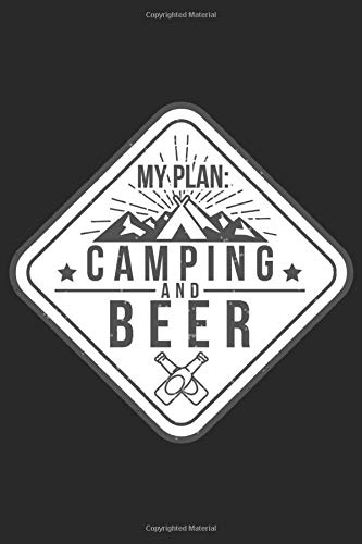 My Plan Camping and Beer: Camping Planner for 2021 (Campers Gifts)