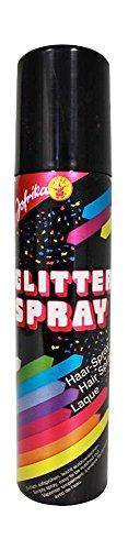 Glitter Color Haarspray - Farbspray zum temporären Haare Färben - Blau - Für Karneval oder Mottoparty in praktischer Spraydose