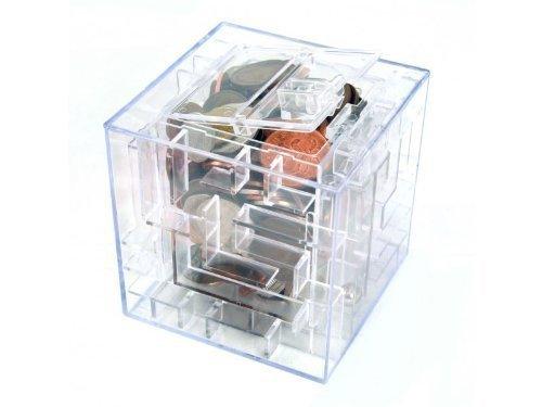 Spar-Box mit Geldversteck als Labyrinth