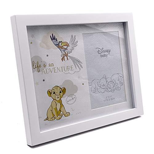 DI550 Bilderrahmen Disney Simba Life is a Adventure Baby in Geschenkbox