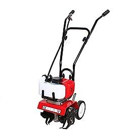 XIANXUS Motobineuse électrique 52cc 6500 TR/Min gaz du Sol Micro motoculteur Travail du Sol Plante agricole Jardin Outil…
