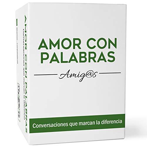 AMOR CON PALABRAS - Amigos | Juegos de Mesa para Amigos para Conocerse Mejor y Echarse Unas Risas. Regalos para Amigas Originales