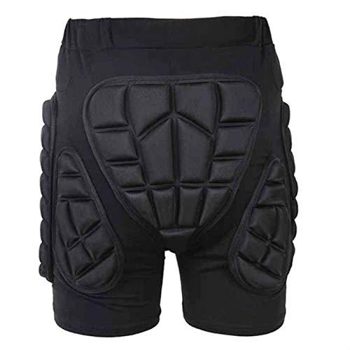 ADDYZ Mar Esquí Monopatín Pantalones Cortos Tierra Cielo Coche Casco Cadera Piernas Protección Pantalones Cortos Tomar el Patineta
