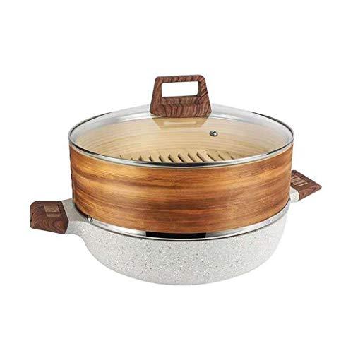 hongbanlemp Vaporeras para ollas Vapor del Acero Inoxidable clásico del Chef Conjunto Integrada de Hogares de aleación de Aluminio de Vapor Vapor Vaporera