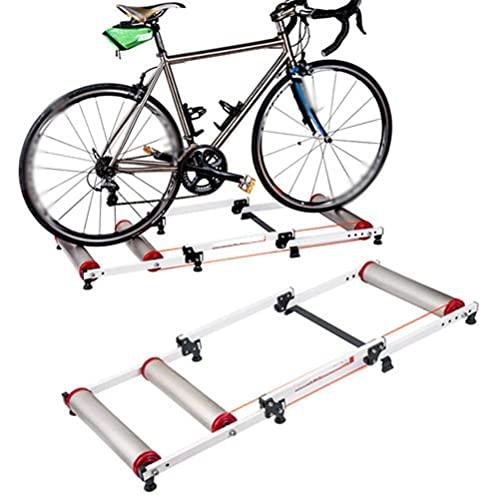 YQTXDS Soporte para Entrenador de Bicicleta, Entrenador Turbo, Rodillos de Bicicleta Plegable para Ciclismo Interior Entrenador de Rodillo de Bicicleta MTB (Entrenador de Bicicleta)
