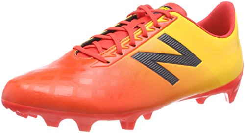 New Balance Herren Furon v4 Dispatch FG Fußballschuhe, Orange (Flame/Aztec Gold/Galaxy Fa4), 45 EU