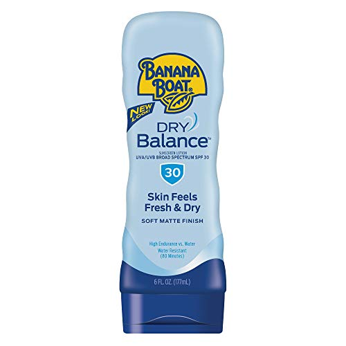 Banana Boat Sunscreen Dry Balance Broad Spectrum Sunscreen Lotion, SPF 30 - 6 Ounce