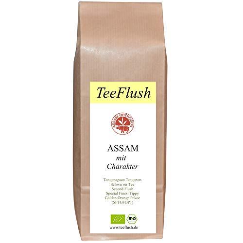 Assam Schwarztee SFTGFOP1, 2020, Bio, Second Flush, 250g, lose, Geschmack: würzig, malzig mit Honigton, Tonganagaon Teegarten