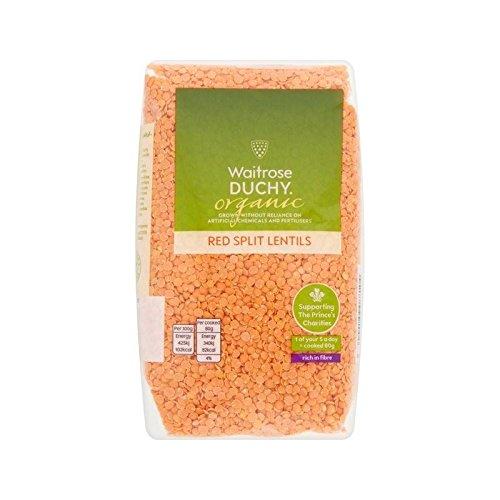 Duchy Milwaukee Mall High material Waitrose Organic Red Lentils of 500g - Pack 6